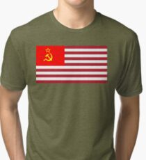 The OFFICIAL FLAG of the TRUMP Presidency! Tri-blend T-Shirt