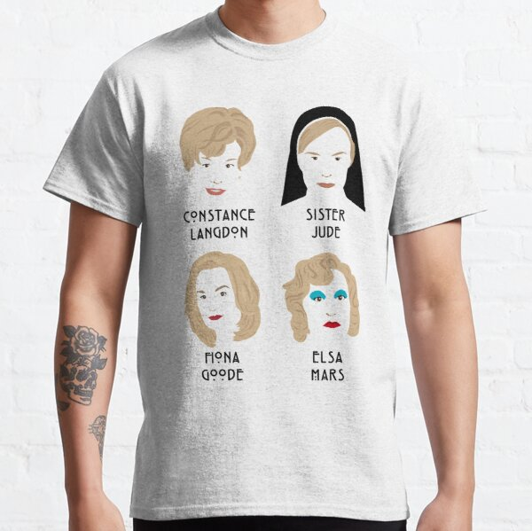 The faces of Jessica Lange Classic T-Shirt