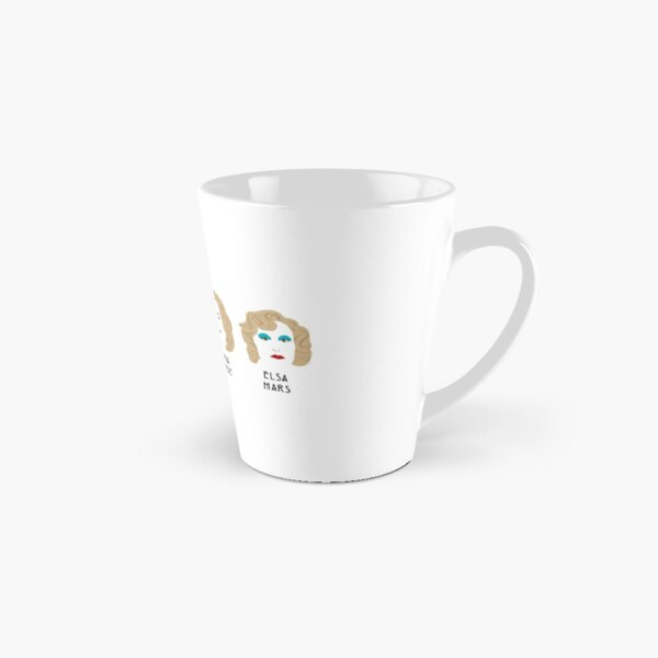 The faces of Jessica Lange Tall Mug
