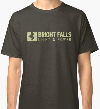 Bright Falls Light & Power (Grunge) Classic T-Shirt