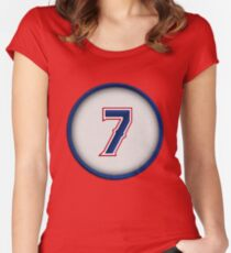7 - Pudge Women's Fitted Scoop T-Shirt