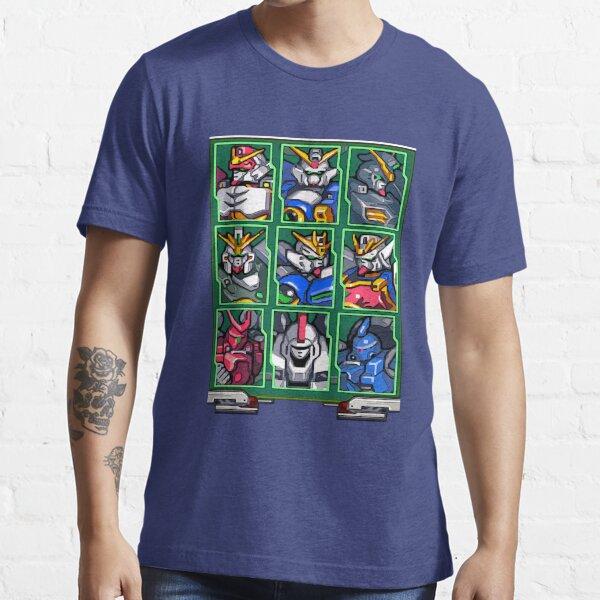 Gundam Wing Mecha Select Essential T-Shirt