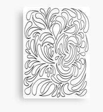 Sploosh Metal Print