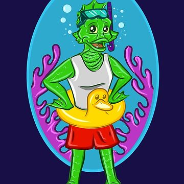 Swampy Swimmer by ChristinaReyes