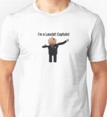 Learjet Captain gear T-Shirt