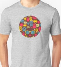 Robot and monsters T-Shirt