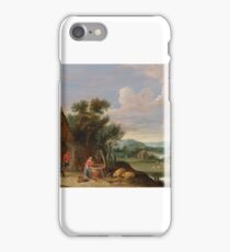 Thomas van Apshoven, Landscape with a Farmstead iPhone Case/Skin