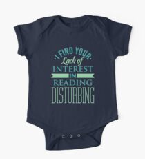 Reading T-shirt Kids Clothes