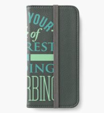 Reading T-shirt iPhone Wallet/Case/Skin