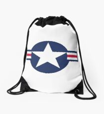 United States Star Insignia, US Star Drawstring Bag