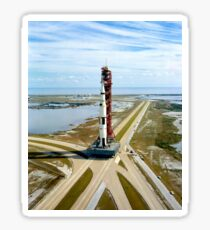 High angle view  of the Apollo 14 space vehicle. Sticker