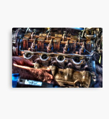Suzuki 1300cc engine Canvas Print