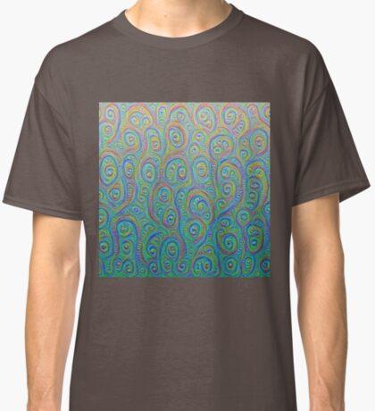 Underwater flowers #DeepDream #Art Classic T-Shirt