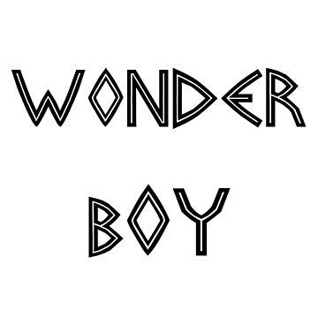 Wonderboy  by Saucydarkmatter