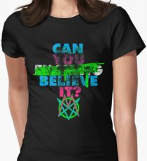 Can You ███████ Believe It? (Clean) Women's Fitted T-Shirt