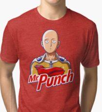 Mr. Punch Tri-blend T-Shirt