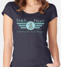 Dalek Diner 2 Women's Fitted Scoop T-Shirt