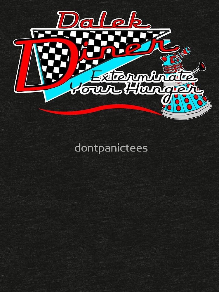 Dalek Diner 1 by dontpanictees
