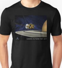 Cassini-Huygens Tribute Unisex T-Shirt