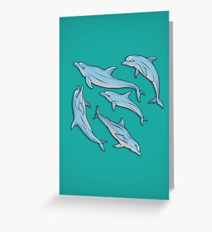 A story about dolphins 3 Greeting Card