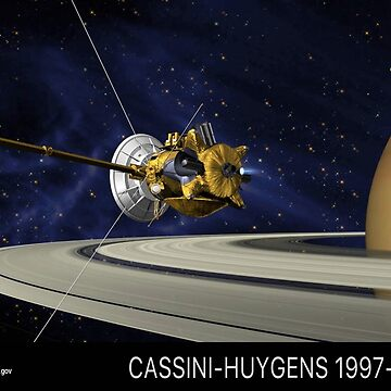 Cassini-Huygens Tribute by iMacMike