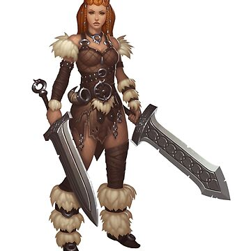 Barbarian Girl by BitGem