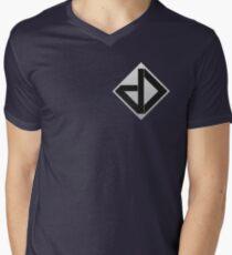Datadyne (Small Logo) Men's V-Neck T-Shirt