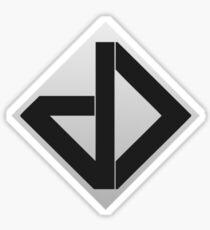 Datadyne (Small Logo) Sticker