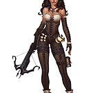 Demon Huntress by BitGem