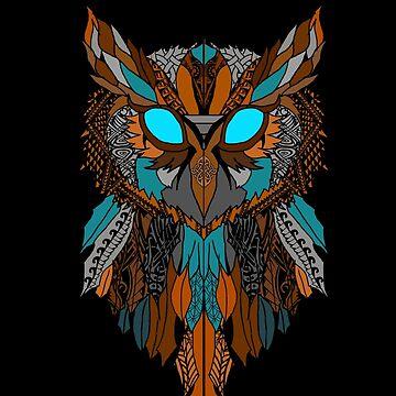 The Owl by Saucydarkmatter