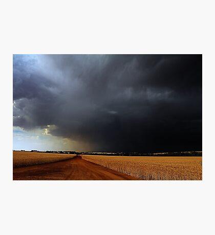 Wheatbelt Thunderstorm Photographic Print