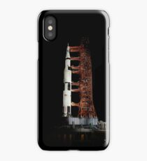 Nighttime view of the Apollo 13 space vehicle. iPhone Case/Skin