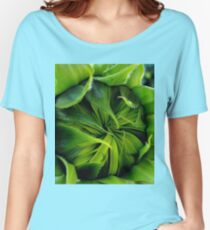 sunflower blooming.. Women's Relaxed Fit T-Shirt