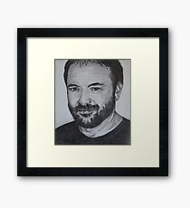 Mark Sheppard - Crowley Framed Print
