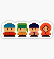 South Park Pixel Sticker