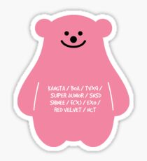 smtown bear Sticker