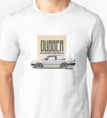 Volkswagen Jetta MK2 Sedan Coupe by Goosefff Unisex T-Shirt