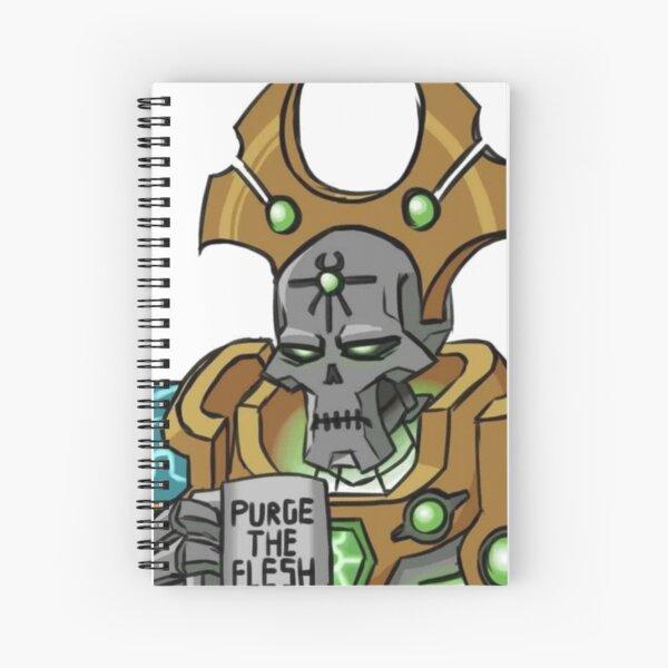 purge the flesh Spiral Notebook