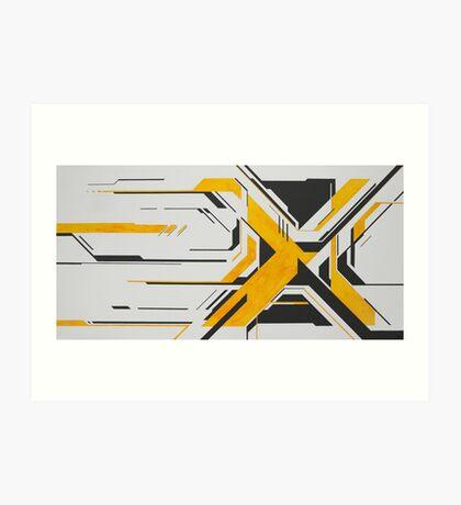 X Impression artistique
