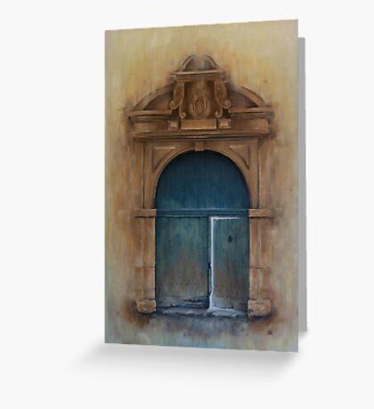 Internal Door Carte de vœux