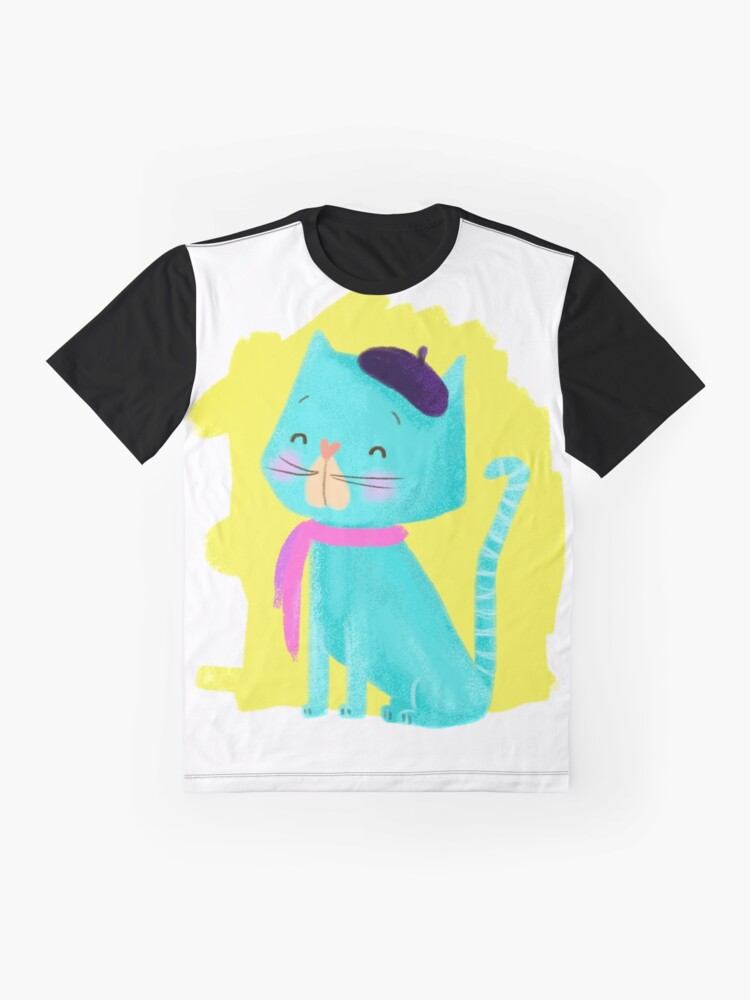 Alternate view of Pierre Cat Graphic T-Shirt