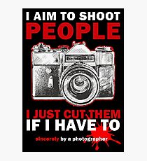 Sincerely, Photographer Photographic Print