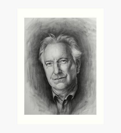 Alan Rickman Impression artistique