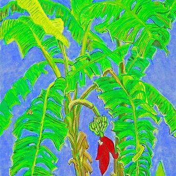 Thai Banana Trees by JamesLHamilton