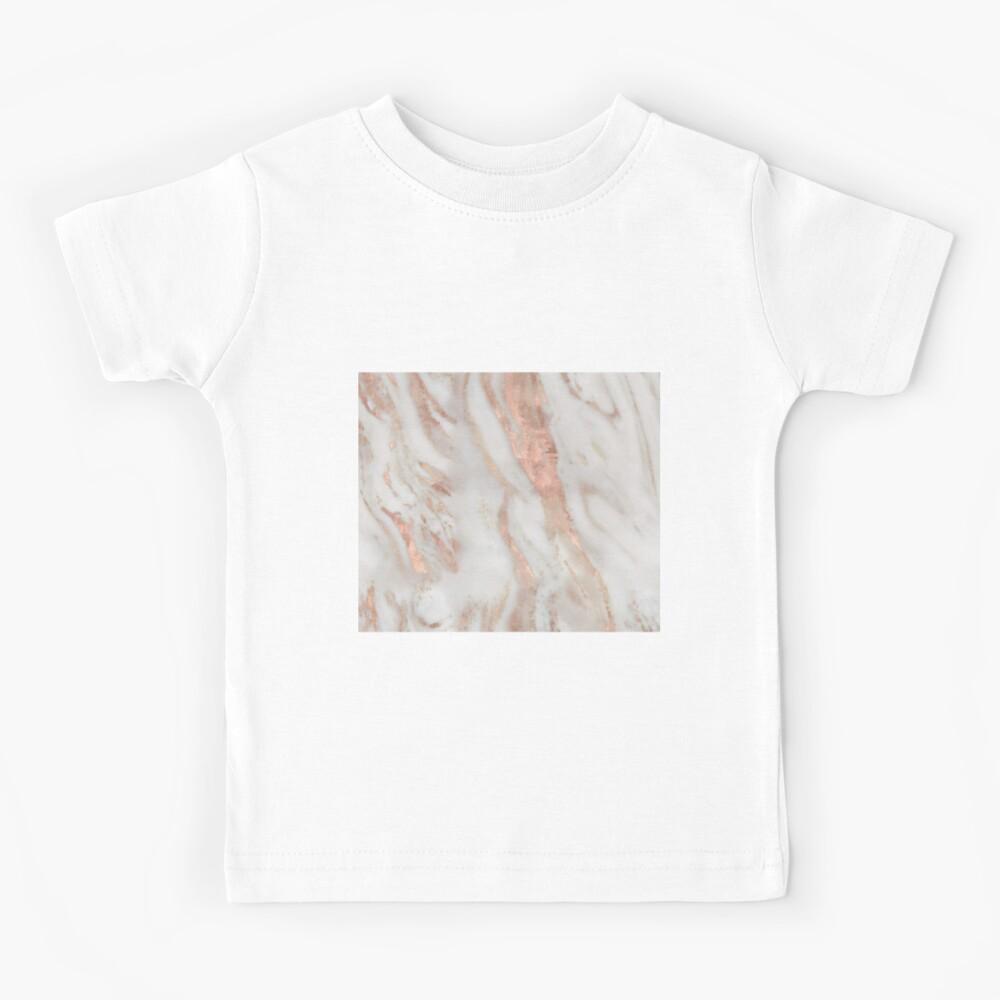 Civezza - rose gold marble Kids T-Shirt