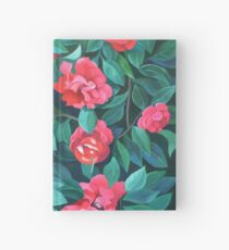 """Camellias, lips and berries"" Hardcover Journal"