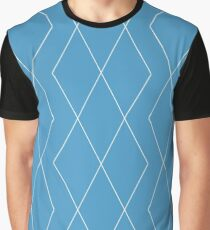 Royal Blue in Grooves Graphic T-Shirt