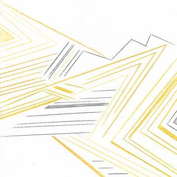 Abstract Lemon Man by CashmereKitty