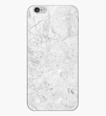 Gray Marble Crackle iPhone Case