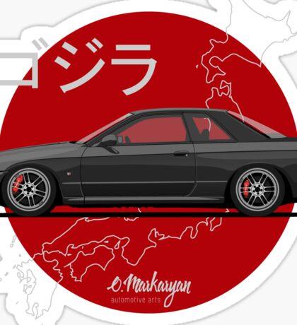 Nissan Skyline R32 GT-R (black) Sticker